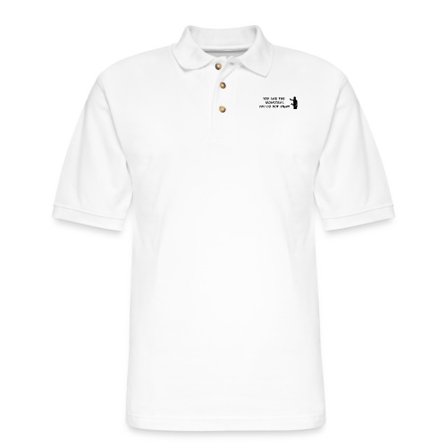 Fight the Monsters - Men's Pique Polo Shirt