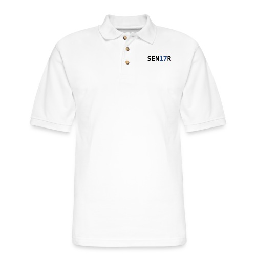 Senior Graduation 2017 - Men's Pique Polo Shirt