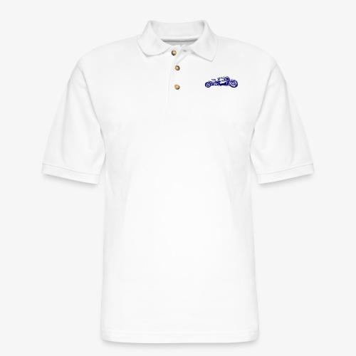 Hot Rod 03 - Men's Pique Polo Shirt