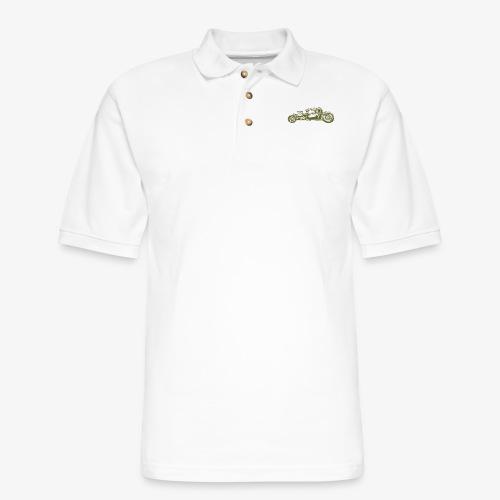 Hot Rod 04 - Men's Pique Polo Shirt