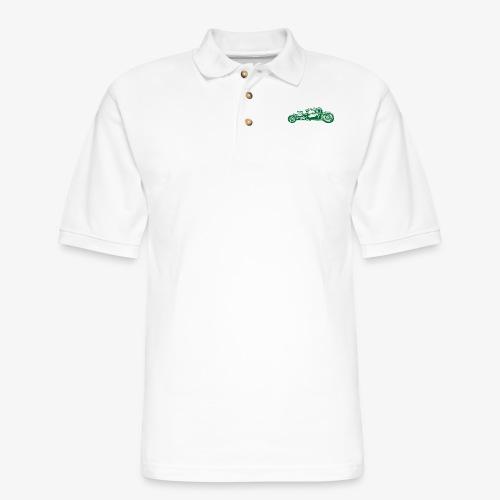 Hot Rod 02 - Men's Pique Polo Shirt