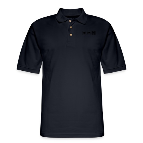 Eat Sleep Urb big fork - Men's Pique Polo Shirt