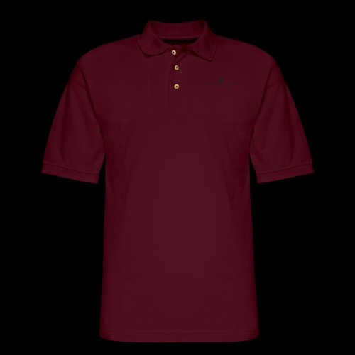 Black Divine Frequency - Men's Pique Polo Shirt