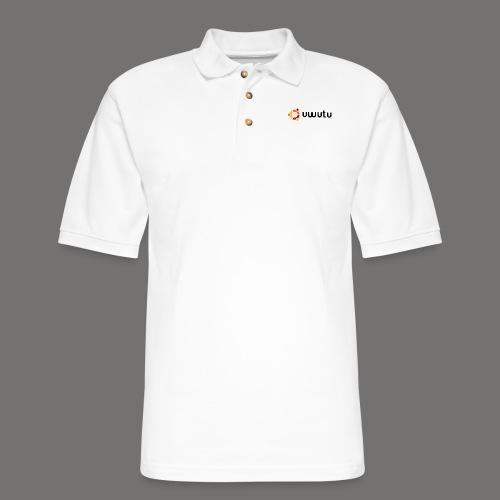 UWUTU - Men's Pique Polo Shirt