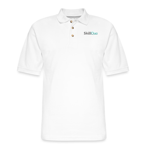 SkillQuo Main - Men's Pique Polo Shirt