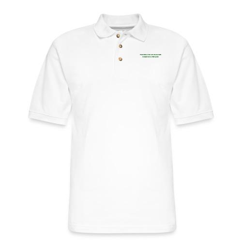 Teaching - Men's Pique Polo Shirt
