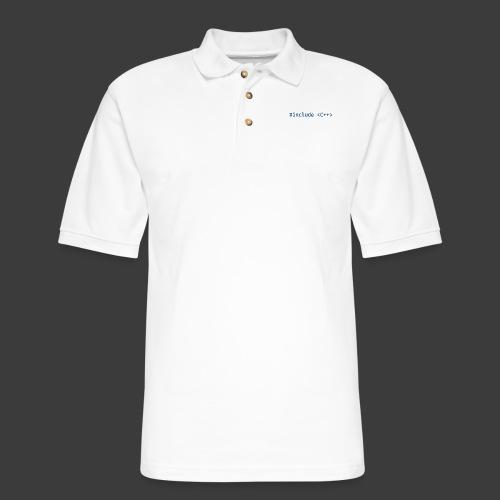 Include Original (Light Background) - Men's Pique Polo Shirt