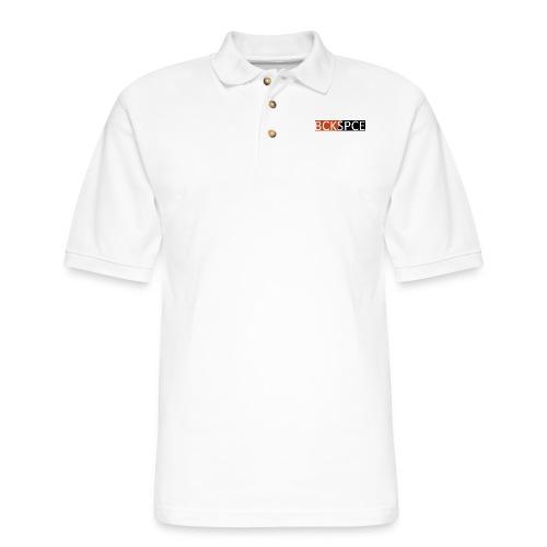 BCKSPCE - Men's Pique Polo Shirt