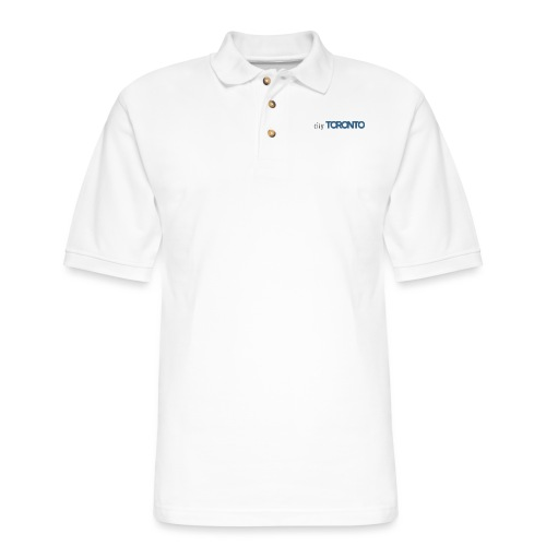 cityTorontoLogoNEW.png - Men's Pique Polo Shirt