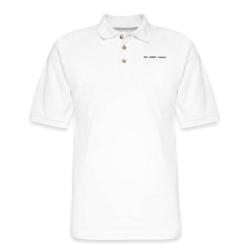 Eat.Sleep.Scrape - Men's Pique Polo Shirt
