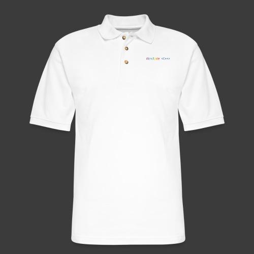 Rainbow Include - Men's Pique Polo Shirt