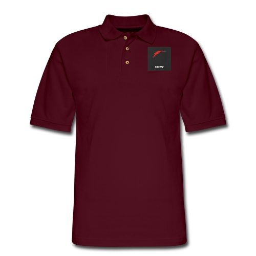 Youtube Channel Logo - Men's Pique Polo Shirt