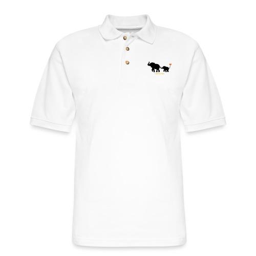 I Love You Tons! - Men's Pique Polo Shirt