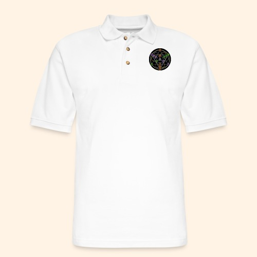 2017 Alchemical Flow - Men's Pique Polo Shirt