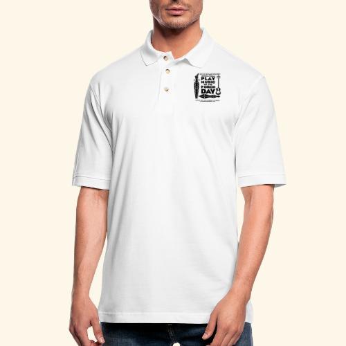 SAPEH_ SHIRT - Men's Pique Polo Shirt