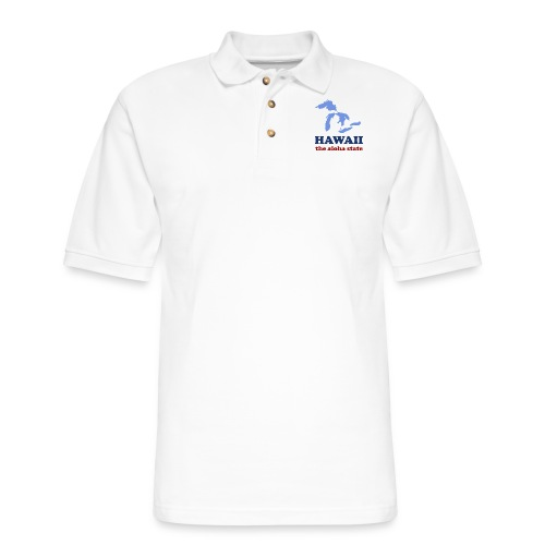 Geographically Impaired - Men's Pique Polo Shirt