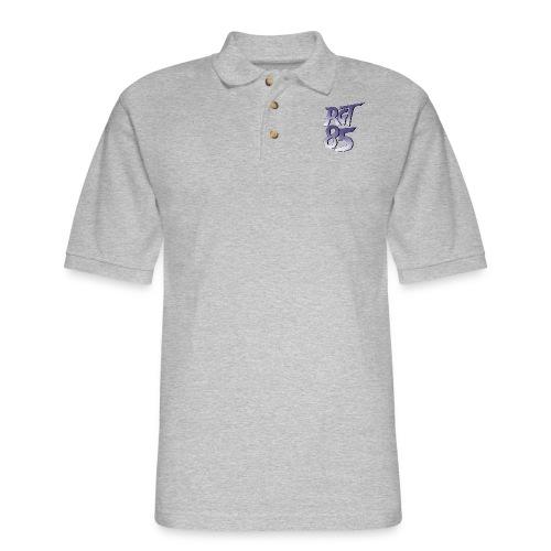 RGT 85 Logo - Men's Pique Polo Shirt
