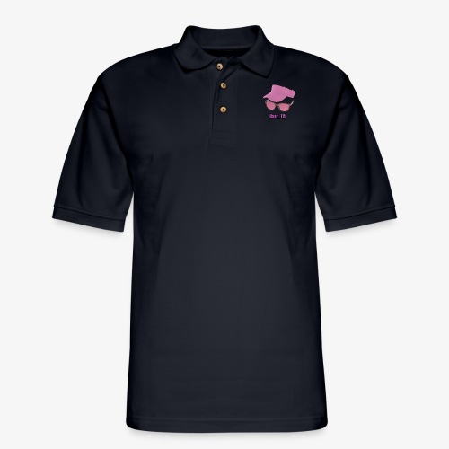 Glasses And Hat - Men's Pique Polo Shirt