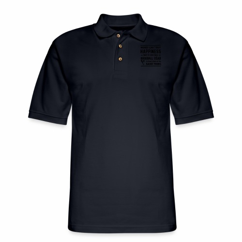 baseball quotes grace liliana transparent - Men's Pique Polo Shirt