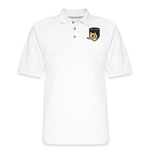 Doge Hound Metal Gear Solid - Men's Pique Polo Shirt