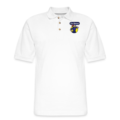 Hire Women! T-Shirt - Men's Pique Polo Shirt