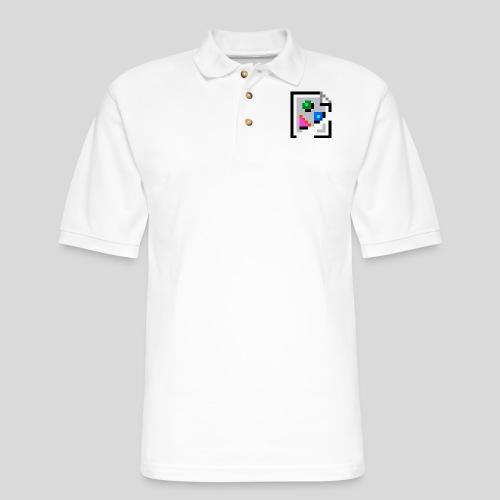 Broken Graphic / Missing image icon Mug - Men's Pique Polo Shirt