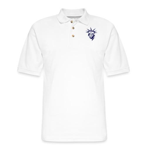 Lady Liberty - Men's Pique Polo Shirt