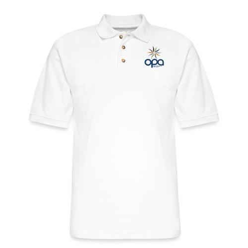 Short-sleeve t-shirt with full color OPA logo - Men's Pique Polo Shirt
