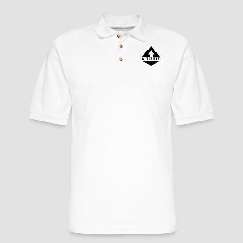 Altitude Mountain - Men's Pique Polo Shirt