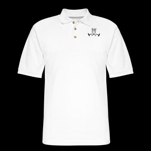 Muscle Cat - Men's Pique Polo Shirt
