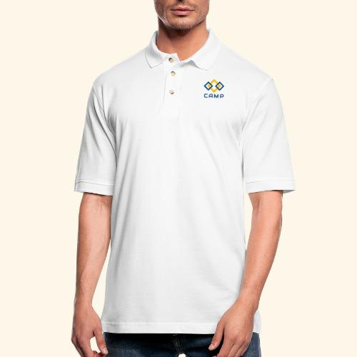 CAMP LOGO and products - Men's Pique Polo Shirt