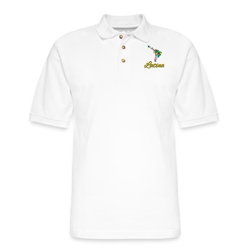 Collection Latina - Men's Pique Polo Shirt