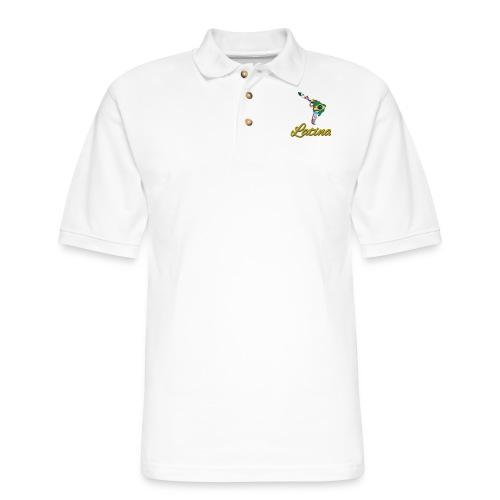 Collection Latina - Men's Pique Polo Shirt