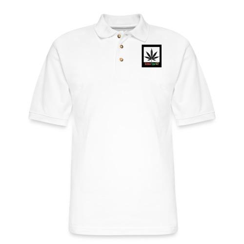 Canna Fams #2 design - Men's Pique Polo Shirt
