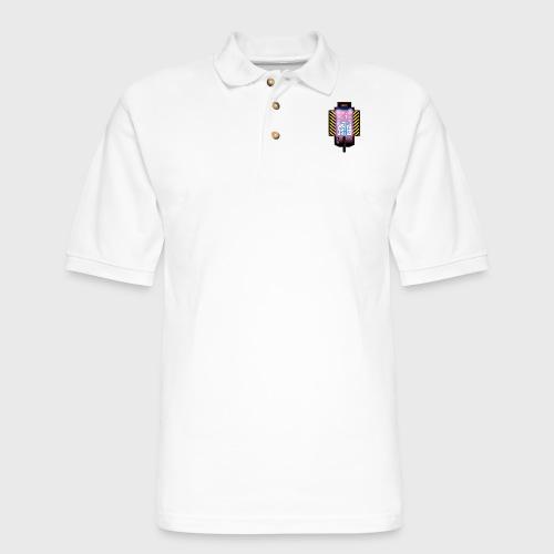 Ghostbusters Tetris Fair Use Mashup - Men's Pique Polo Shirt