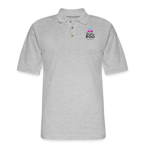 Rainbow Poo - Men's Pique Polo Shirt