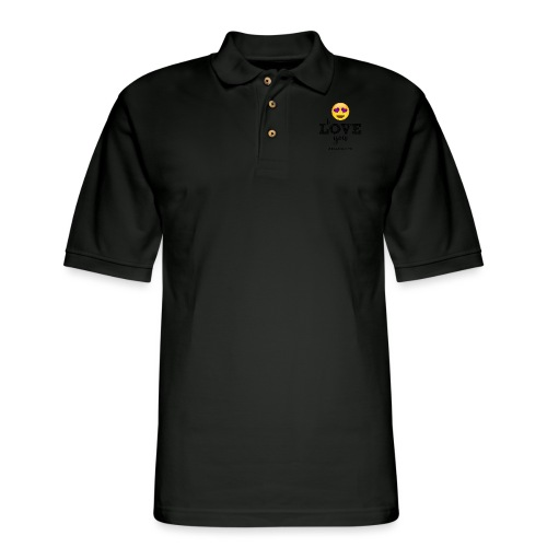 I LOVE you - Men's Pique Polo Shirt