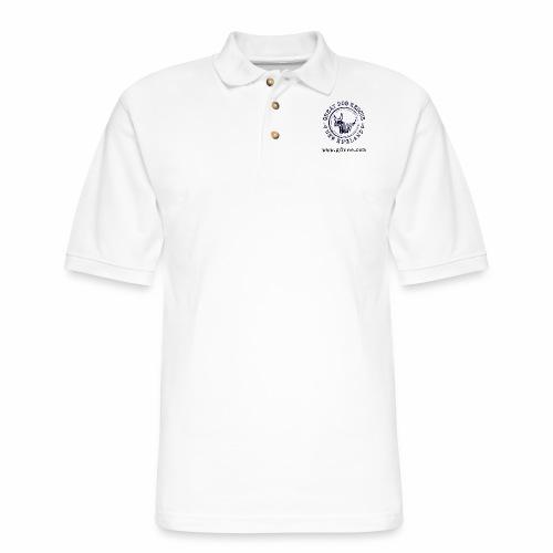 GDRNE Logo - Men's Pique Polo Shirt