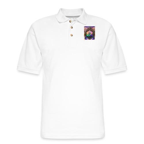 ruth bear - Men's Pique Polo Shirt