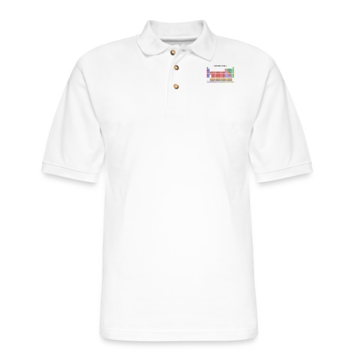 Periodic Table T-shirt (Light) - Men's Pique Polo Shirt