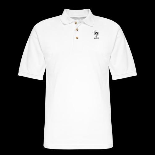 Dude Head 2 - Men's Pique Polo Shirt