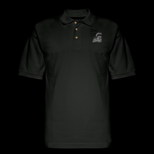 Cheers to Bad Decisions   Vintage Sarcasm - Men's Pique Polo Shirt