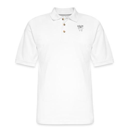 Un Deux Trois Cat - Men's Pique Polo Shirt