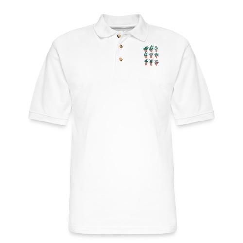 Flowerpots - Men's Pique Polo Shirt