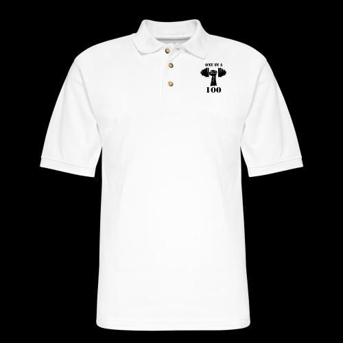 OneInA100 - Men's Pique Polo Shirt