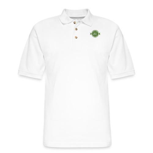 Let's go Camping Into the Wild T-shirt - Men's Pique Polo Shirt