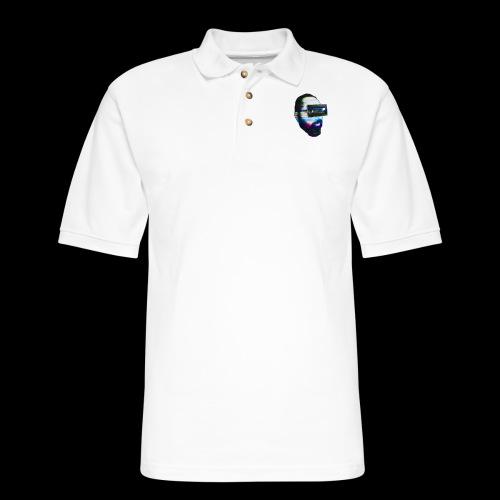 Spaceboy Music - Glitched - Men's Pique Polo Shirt