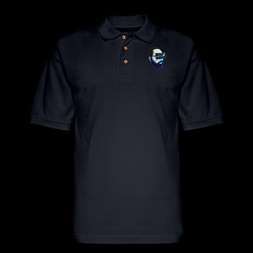 Spaceboy Music - Glitched - Men's Pique Polo Shirt