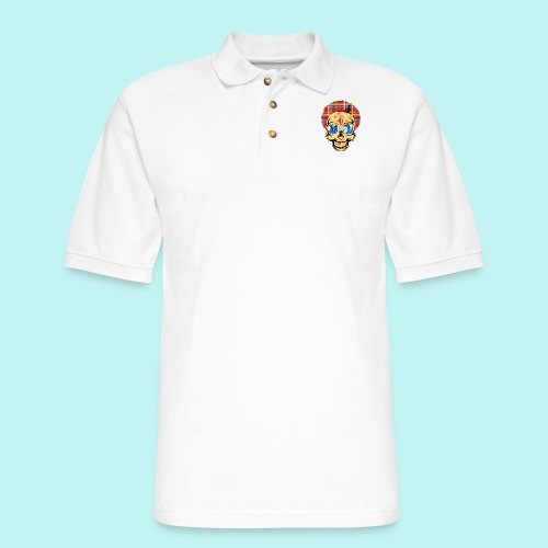 WIZ KHALIFA SKULLY - Men's Pique Polo Shirt