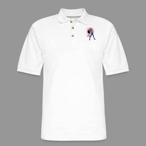 Allenby and Nobel Gundam - Men's Pique Polo Shirt